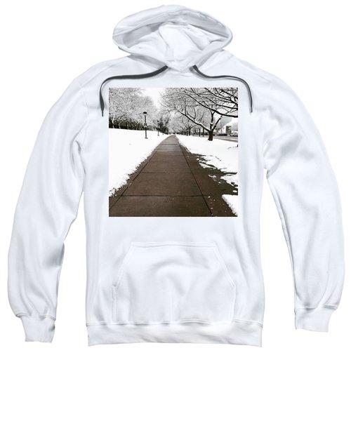 Winter Walks  Sweatshirt by Cyrionna The Cyerial Artist