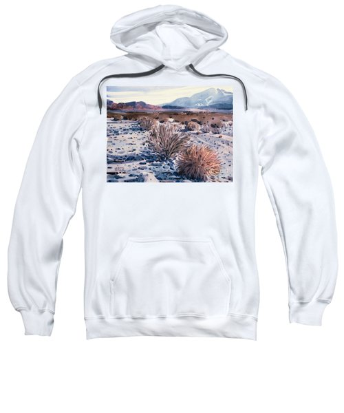 Evening In Death Valley Sweatshirt by Donald Maier