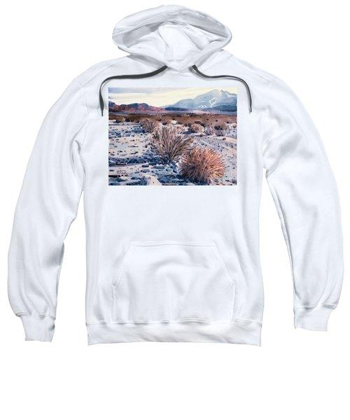 Evening In Death Valley Sweatshirt