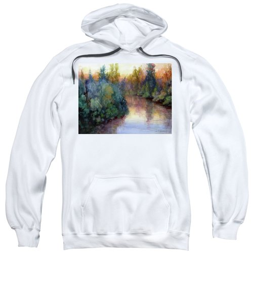 Evening On The Willamette Sweatshirt