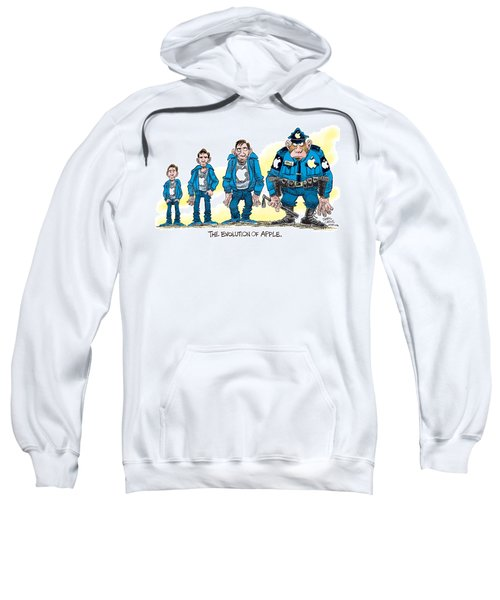 Evolution Of Apple Sweatshirt