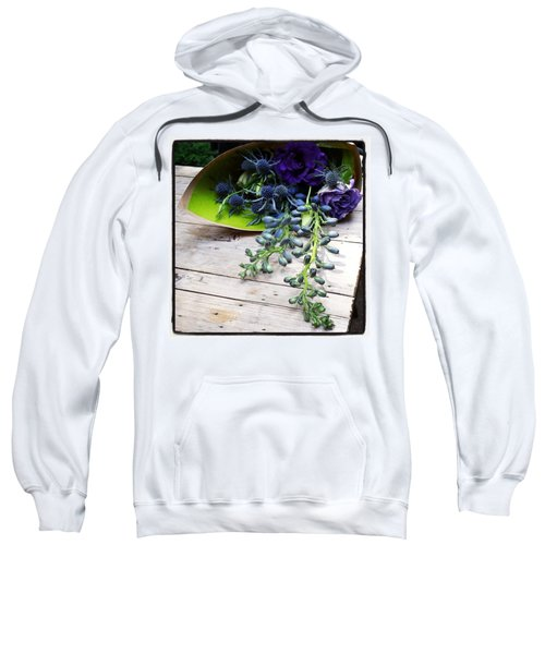 Sweatshirt featuring the photograph Excellent Customer Service. #flowers by Mr Photojimsf