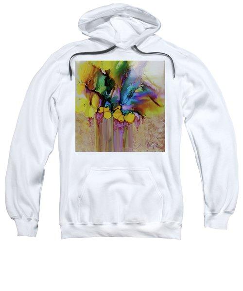 Explosion Of Petals Sweatshirt