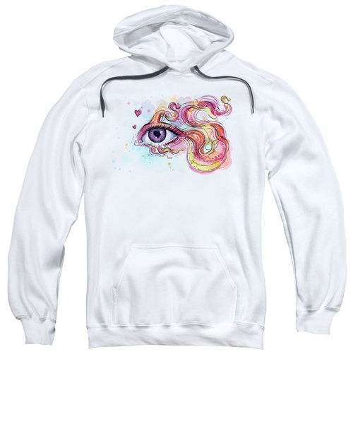 Eye Fish Surreal Betta Sweatshirt