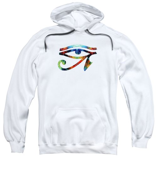 Eye Of Horus - By Sharon Cummings Sweatshirt