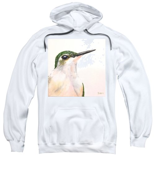 F. Ruby Throated Hummingbird Sweatshirt