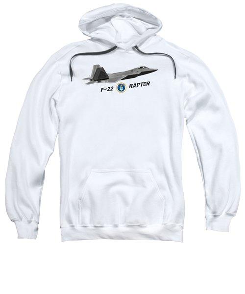 F22 Raptor Png Sweatshirt