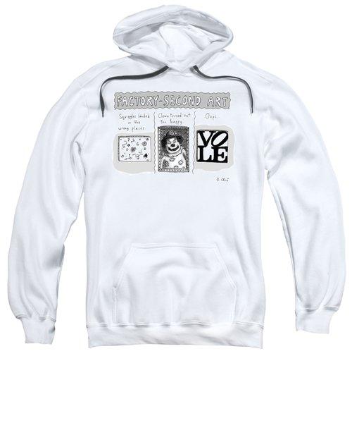 Factory Second Art Sweatshirt
