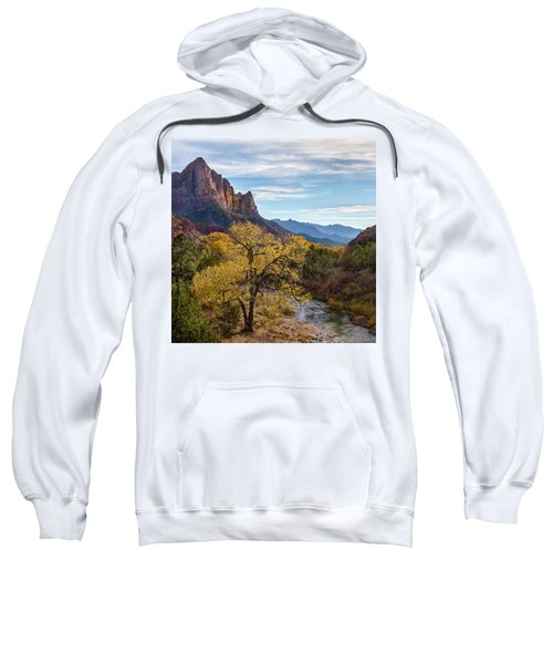 Fall Evening At Zion Sweatshirt