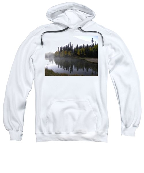 Kiddie Pond Fall Colors Divide Co Sweatshirt