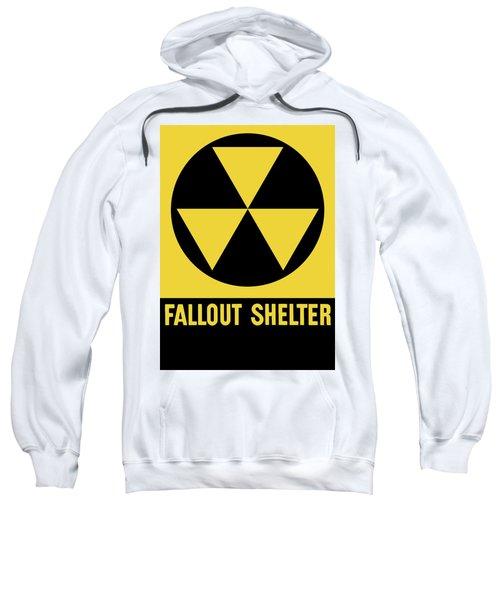 Fallout Shelter Sign Sweatshirt