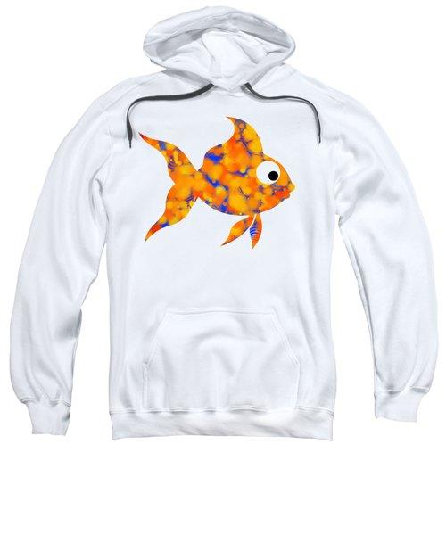 Fancy Goldfish Sweatshirt by Christina Rollo