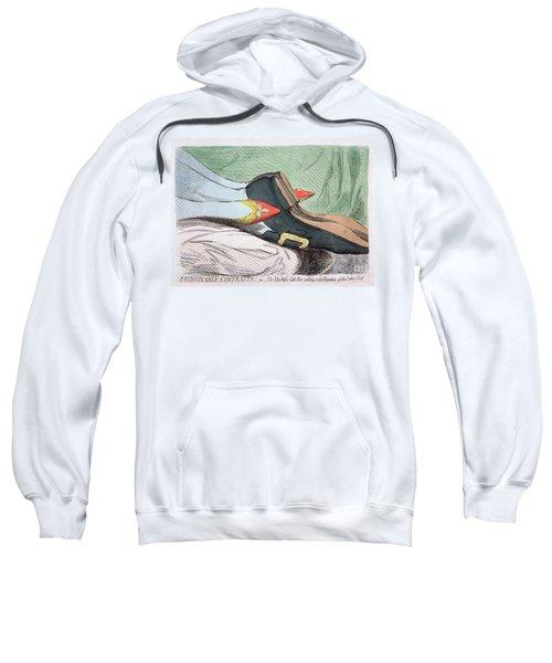 Fashionable Contrasts Sweatshirt