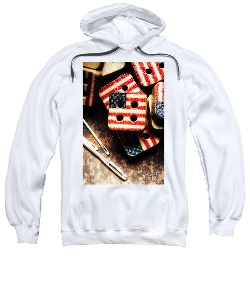 Fashioning A Usa Design Sweatshirt