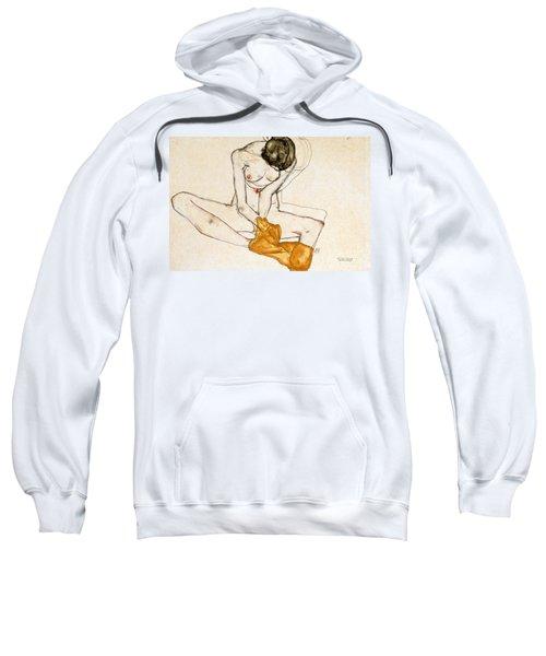 Female Nude Sweatshirt