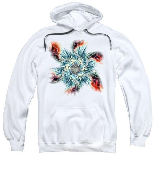 Fire Vs Ice Sweatshirt