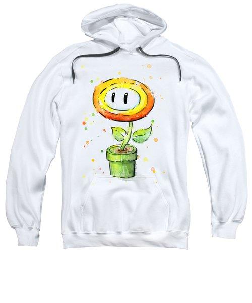 Fireflower Watercolor Sweatshirt