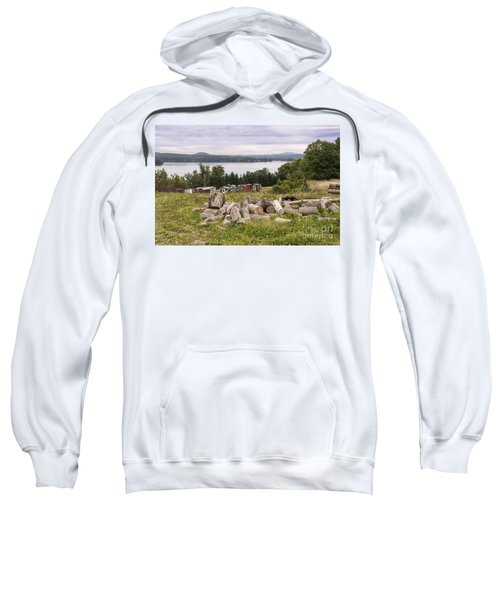 Firewood And Ice Houses Sweatshirt