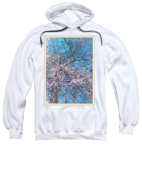 First Snow At Dawn Sweatshirt