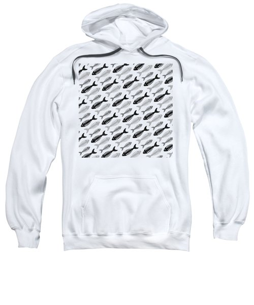Fish Bone Soup No 1 Sweatshirt