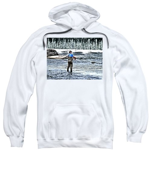 Fisherman On The River Sweatshirt