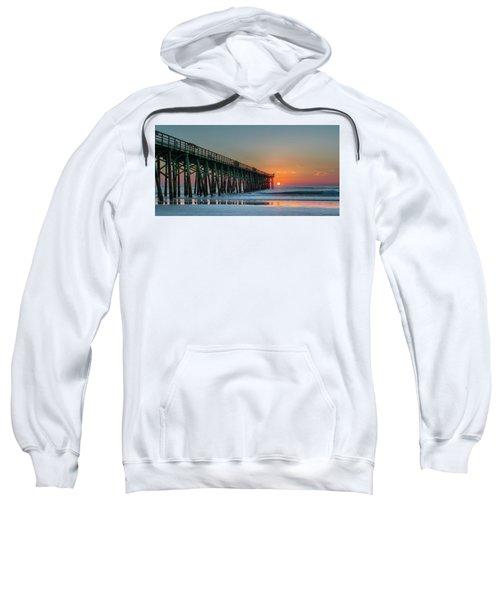 Flagler Pier Sunrise Sweatshirt