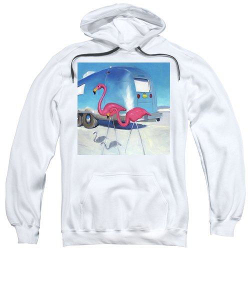 Flamingo Migration Sweatshirt