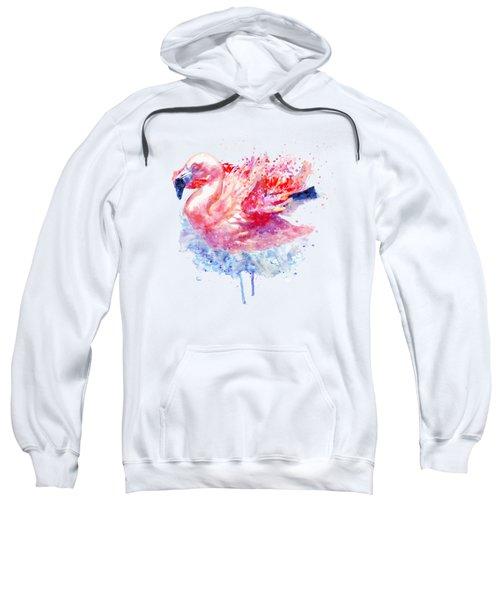 Flamingo On The Water Sweatshirt