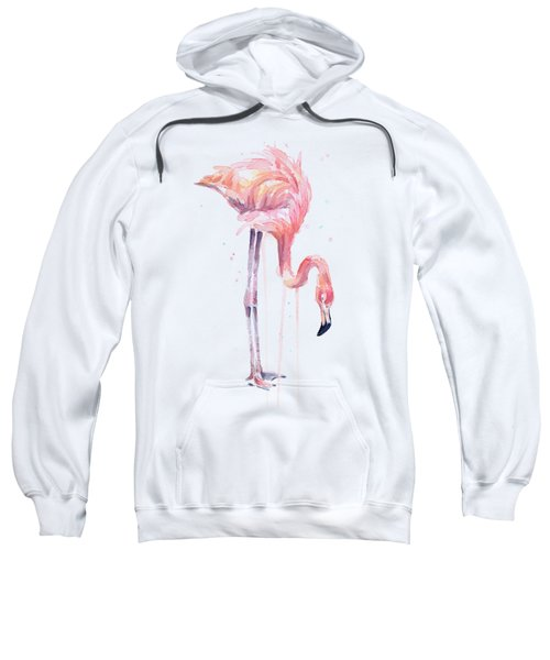 Flamingo Painting Watercolor Sweatshirt
