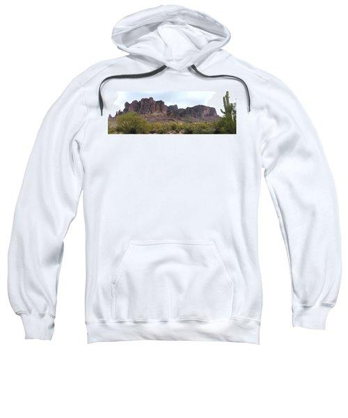 Flatiron Of The Superstition Mountains Sweatshirt