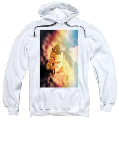 Flight Of Space Fiction Sweatshirt