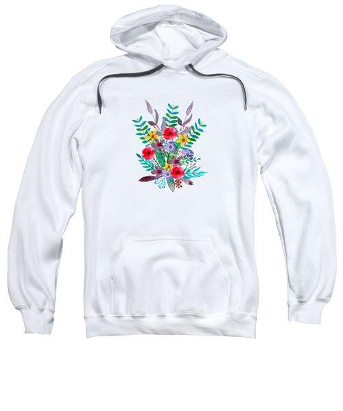 Floral Bouquet Sweatshirt by Amanda Lakey