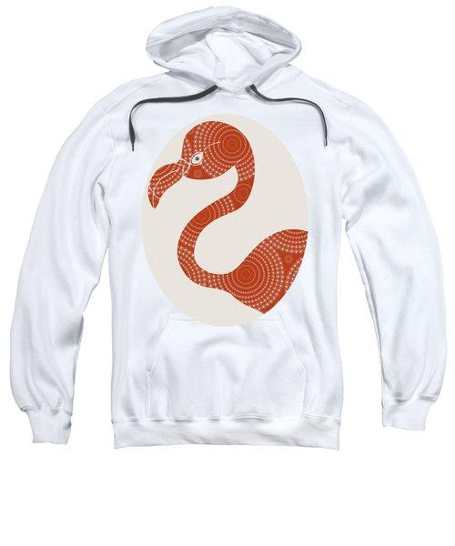 Floral Flamingo Sweatshirt