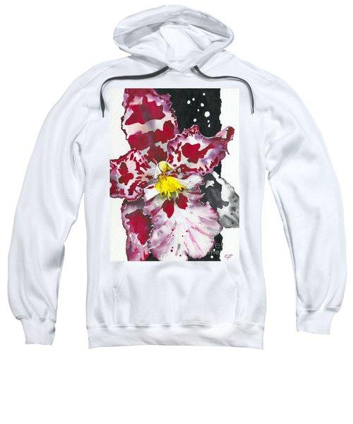 Flower Orchid 11 Elena Yakubovich Sweatshirt
