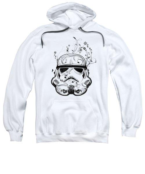 Flower Trooper Sweatshirt by Nicklas Gustafsson
