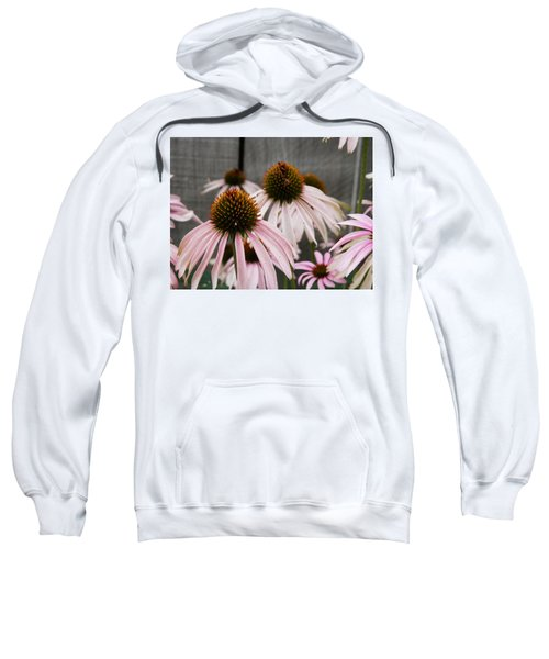 Flowers Along The Fence Sweatshirt