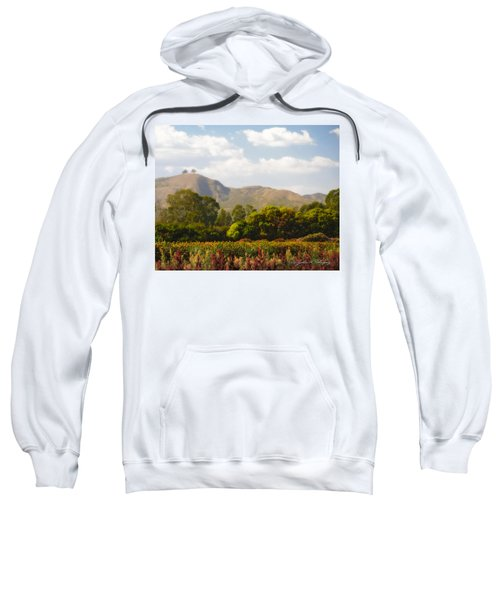 Flowers And Two Trees Sweatshirt