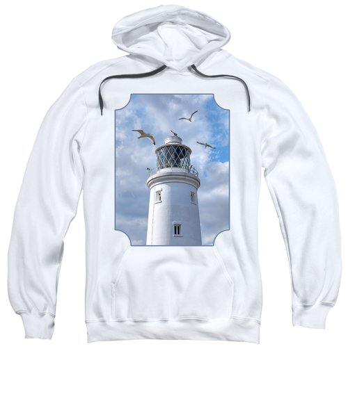 Fly Past - Seagulls Round Southwold Lighthouse Sweatshirt