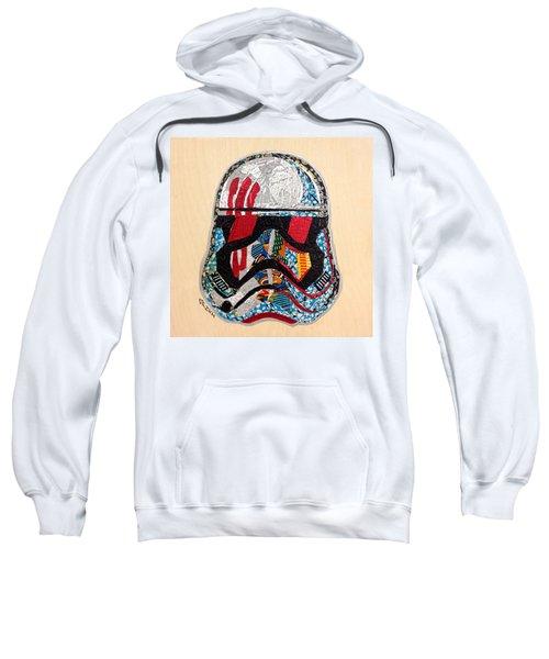 Storm Trooper Fn-2187 Helmet Star Wars Awakens Afrofuturist Collection Sweatshirt