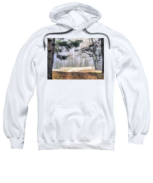 Foggy Autumn Landscape Sweatshirt