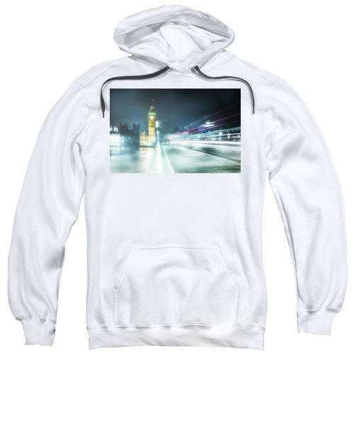 Foggy Westminster Bridge Sweatshirt