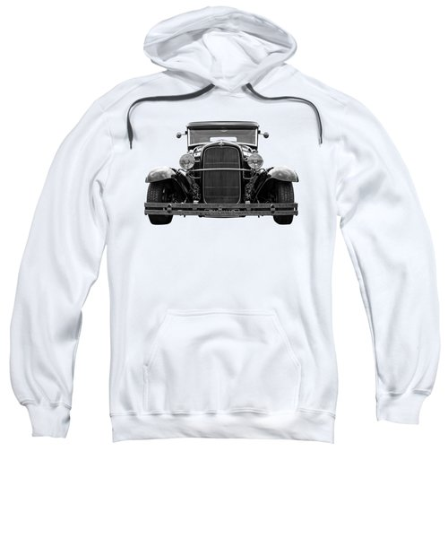 Ford Coupe Head On In Black And White Sweatshirt