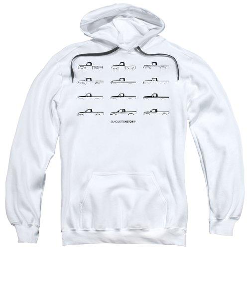 American Pickup Silhouettehistory Black Sweatshirt