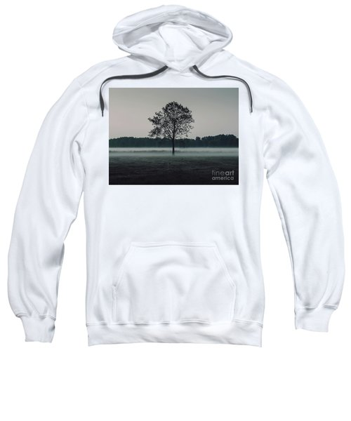 Sweatshirt featuring the photograph Forest Fog by MGL Meiklejohn Graphics Licensing