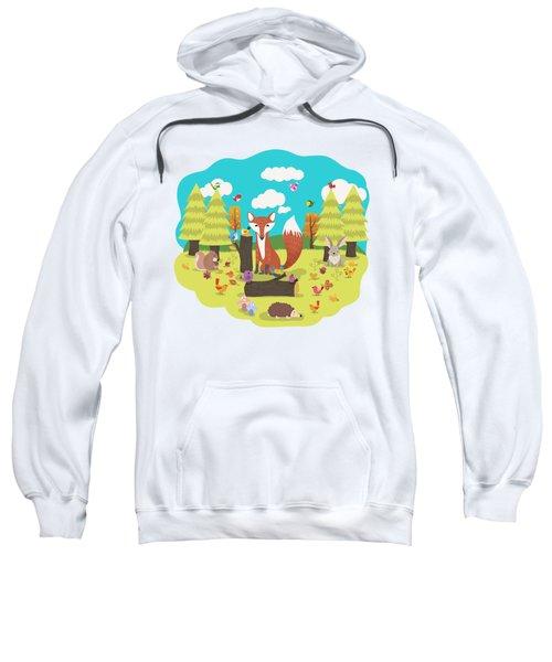 Forest Friends Fall Frolic Sweatshirt