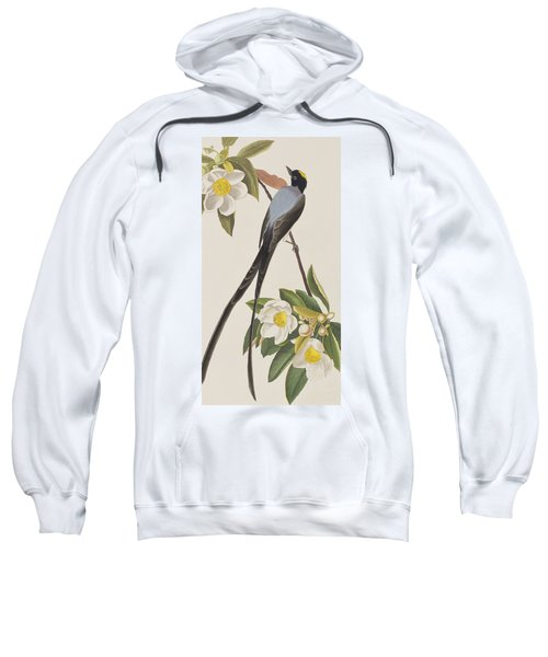 Fork-tailed Flycatcher  Sweatshirt by John James Audubon