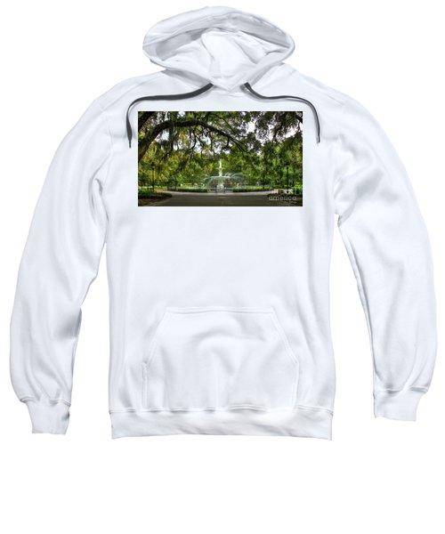 Forsyth Park Fountain Historic Savannah Georgia Sweatshirt