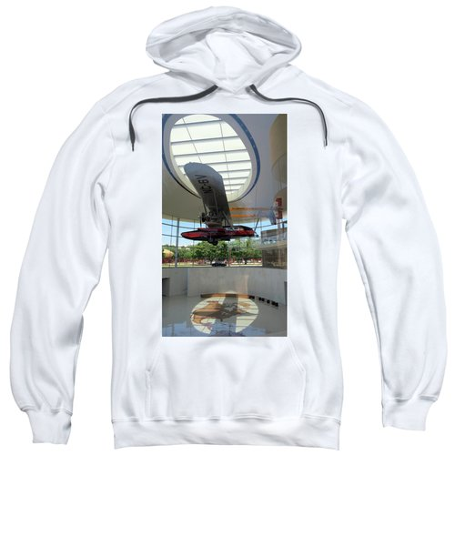 Sweatshirt featuring the photograph Fortaleza Hall, Spirit Of Carnauba by Mark Czerniec