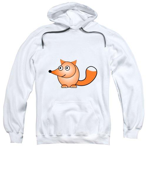 Fox - Animals - Art For Kids Sweatshirt by Anastasiya Malakhova