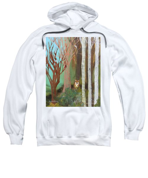 Fox In The Forest  Sweatshirt